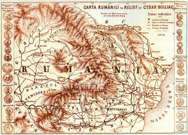 Romania Informatii  800px-Rum%C3%A2nia_v%C4%83zut%C4%83_de_Cezar_Bolliac