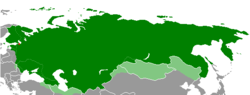 Proclaimed territory of the Russian Republic[a]