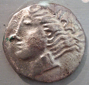 Aveyron - Ruteni coin, 5th–1st century BCE.