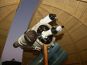 Space Place at Carter Observatory - The Ruth Crisp telescope