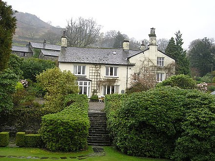 Rydal Mount - home to Wordsworth 1813-1850. Hundreds of visitors came here to see him over the years Rydal Mount - geograph.org.uk - 959824.jpg