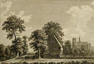 Rye House, Hertfordshire - Image: Rye House 1777 Forster 2