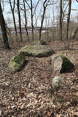 Sögel - Nach Püttkesberge - Großsteingrab Püttkesberge 16 ies.jpg