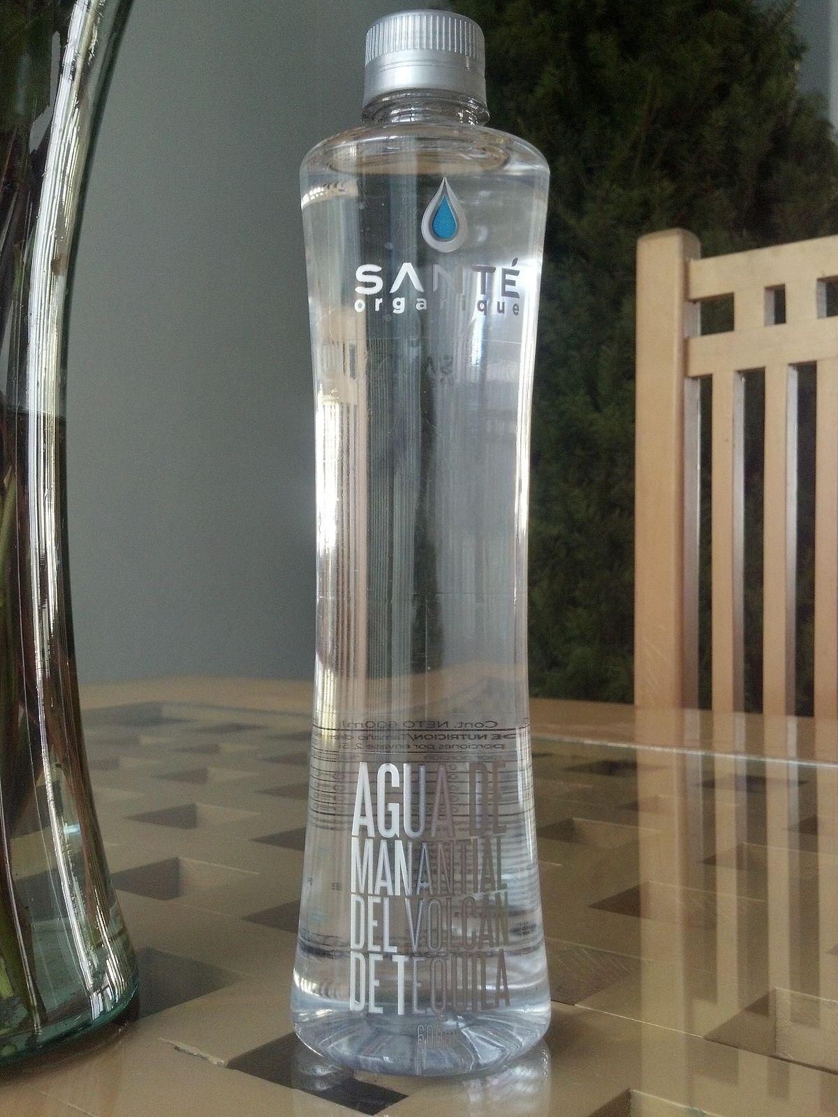Botella De Agua Santé organique -...
