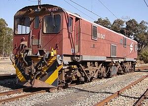 South African Class 10E - Image: SAR Class 10E 10 047