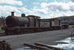 South African type SH tender - Image: SAR Class 1 1247 Masons Mill 290379