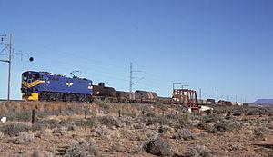 South African Class 7E - Image: SAR Class 7E E7008 BT
