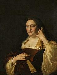 Portrait of Rebecca Schellingwou (1610-1667)