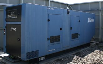 Kohler Co. - Power generator GS 400 produced by SDMO Industries