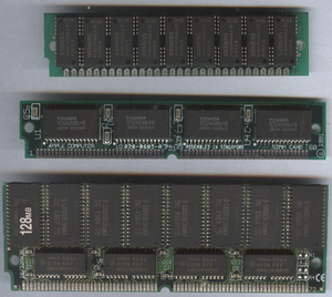 SIMM - 30-pin, proprietary Apple 68-pin, and 72-pin SIMMs