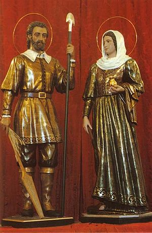 Isidore the Laborer - St Isidro and St. Maria