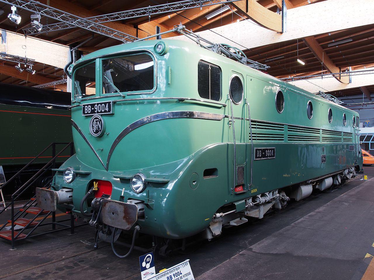 sncf bb 9004, cité du train