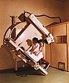 SOTE (ma Semmelweis Egyetem) Pulmonológiai Klinikája a János Kórház területén. Planigraph, rétegfelvevő röntgenkészülék. Fortepan 74623.jpg