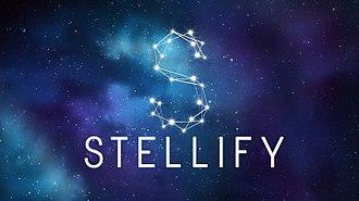 Stellify Media - Image: STELLIFY LOGO WITH NEBULA