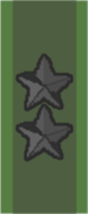 Generalmajor (Sweden) - Image: SWE Generalmajor sv
