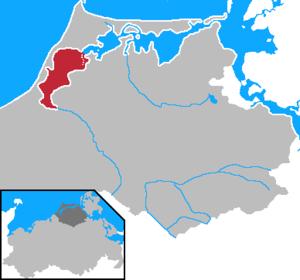 Saaler Bodden - Location of the Saaler Bodden