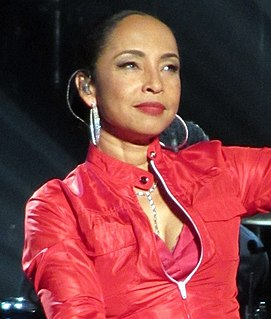 Sade (singer) Nigerian singer and songwriter