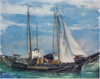 SaekiYūzō-1926-Ship at Anchor-3.png
