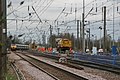Safely through, a northbound HST crawls past Cambridge Junction, Hitchin. - panoramio.jpg