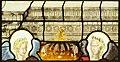 Saint-Chapelle de Vincennes - Baie 1 - Deux anges présentant les armes de France (détail) (bgw17 0801).jpg