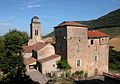 Saint-Geniez de Bertrand (le château, façade est).JPG