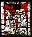 Saint-Lô Église Notre-Dame Vitrail Baie 22 Saint Vincent Ferrer présenté au roi d'Angleterre Henri V à Caen 2019 08 19.jpg