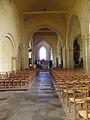 Saint-Méen-le-Grand (35) Abbatiale Nef 01.JPG
