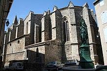 L'escargot de Saint Pargoire dans ESCARGOT 220px-Saint-Pargoire_eglise_chevet