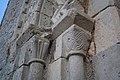 Saint-Pierre-Église Église de Saint-Pierre apôtre Portail roman du clocher Chapiteaux du nord 2016 08 21.jpg