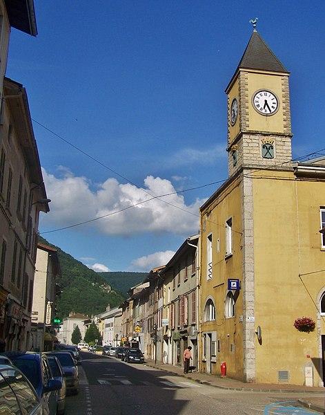Saint-Rambert-en-Bugey, a little commune of Ain, France.