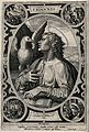 Saint John the Evangelist. Etching after the Master E.S., 14 Wellcome V0032415.jpg