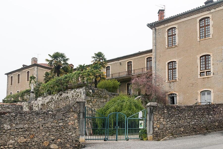 Saint-Lizier, Ariège, France - Former Hôtel-Dieu.