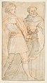 Saint Michael and Saint Giovanni Gualberto (after Andrea del Sarto's Vallombrosa Altarpiece) MET DP812298.jpg
