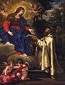 Saint Peter Damien Offering the Rule of the Camaldolese Order to the Virgin.jpg