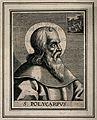Saint Polycarp. Engraving. Wellcome V0032929.jpg