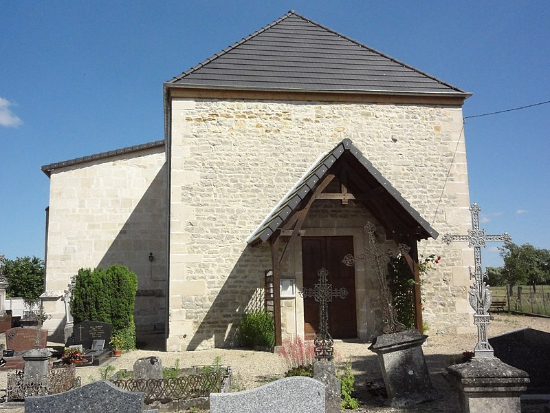 Sainte-Livière (Haute-Marne) église