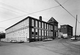 National Register of Historic Places listings in Forsyth County, North Carolina - Image: Salem Manufacturing Company, Arista Cotton Mill, Brookstown & Marshall Streets, Winston Salem (Forsyth County, North Carolina)