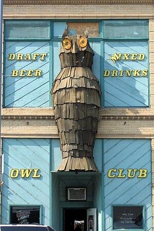 Salmon, Idaho - Image: Salmon idaho owl club