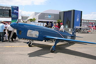 Caudron C.460 - Modern reproduction of a Caudron C.460 at the Paris Air Show 2009.