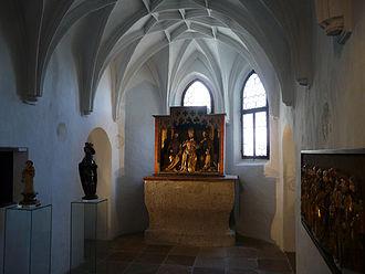 Hohensalzburg Castle - Chapel of archbishop Leonhard von Keutschach