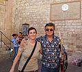 Samantha Palazzi e Bobby Solo, Assisi 2013.JPG