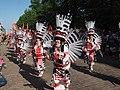 Samba dancers from Sambic at Helsinki Samba Carnaval 2019.jpg