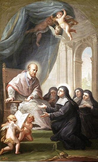 Francis de Sales - Image: San Francisco de Sales, de Francisco Bayeu (Museo del Prado)