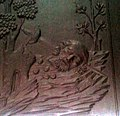 San Frontonio bajorelieve puerta Santa Maria Épila.jpg