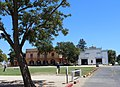 San Juan Bautista, CA USA -The Zanetta House-Plaza Hall (left) and Plaza Stables - panoramio.jpg