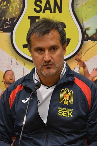Fernando Vergara - Image: San Luis Unión Española, 13 09 2015 Fernando Vergara