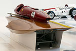 San Marco-Ferrari racing boat (1957) front-right Enzo Ferrari Museum.jpg