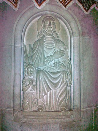 Kingdom of Hungary (1000–1301) - Relief from the Romanesque church of Ják