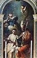 San Salvador Interno - San Nicolò, San Leonardo e il Beato Arcangelo Canetoli di Giovanni Battista Piazzetta e Domenico Maggiotto.jpg