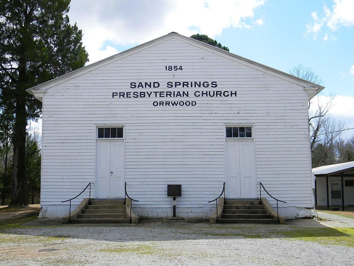 Spring City Tn Park Church Service
